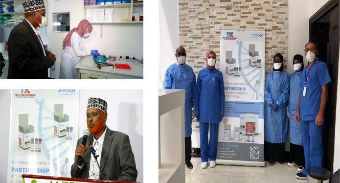 somalia covid-19 test lab coronavirus detection kit